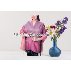AUTUMNZ Nursing Wrap / Cover Bloom Pink