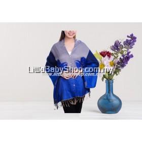 AUTUMNZ Nursing Wrap / Cover Bloom Persian Blue