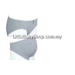 Autumnz-Martha Maternity Panty  Grey
