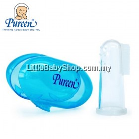 Pureen Silicone Baby Finger Toothbrush & Gum Massager with Case