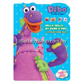 DIBO The Gift Dragon: Hello, Hello, My Name Is Dibo A Sticker Scene Book