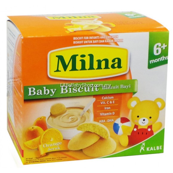 Milna Baby Biscuit Dha 130g L Little Baby Shop My Online