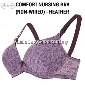 AUTUMNZ Comfort Nursing Bra (Non-Wired) Heather