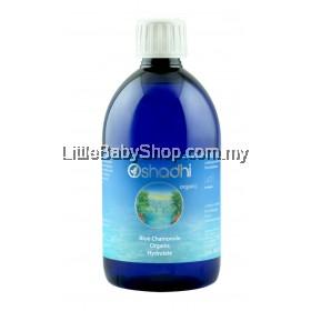 OSHADHI BLUE CHAMOMILE ORGANIC HYDROLATES WATER 500ML