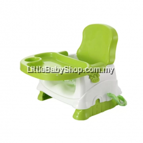 Babyhood Baby Booster Seat/ Portable Baby Dining Chair and Table - Green  (BEST BUY)