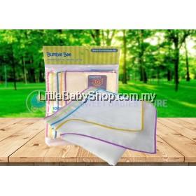 BUMBLE BEE 100% Cotton Gauze Face Cloth (20cm X 20cm) - 5pcs