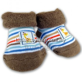 Bumble Bee Socks Giraffe Terry Socks
