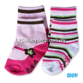 Bumble Bee 2Pair Pack Jane Love Socks