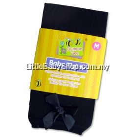 Bumble Bee Black Tights with Butterfly