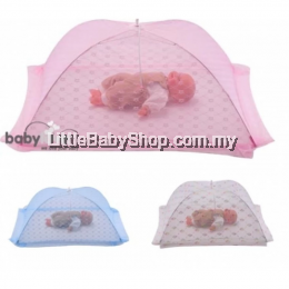 Babylove Foldable Mosquito net- XL (Pink)