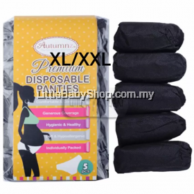 Autumnz  Premium Disposable Panty 5Pcs -Black