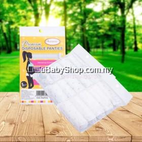 AUTUMNZ Premium Disposable Panties 5Pcs Size M/L/XL (Assorted Color)