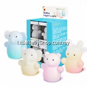 Bremed Obebe Baby Night Light BD3180 (Bear/Elephant/Koala/Rabbit)