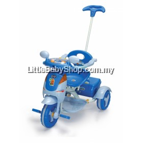 My Dear Space Ship Tricycle With Rubber Wheel 21004 Blue