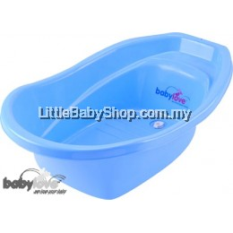 Babylove Baby Basic Bath Tub- Pastel Blue ( Best Buy)