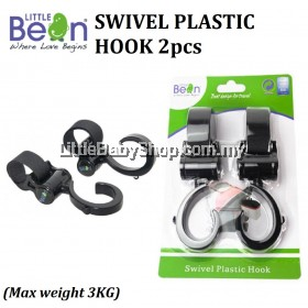 LITTLE BEAN Swivel Plastic Hook