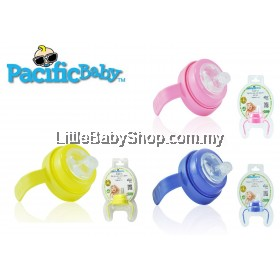 Pacific Baby Handle Set - Blue/Pink/Yellow