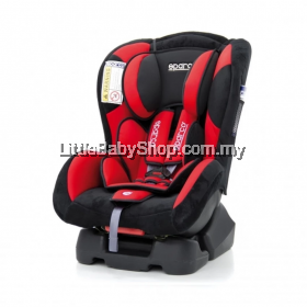 Sparco F500K Convertible Car Seat 0-18kg Red