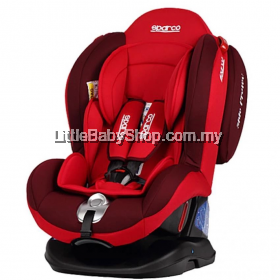 Sparco  F2000K Convertible Car Seat Red