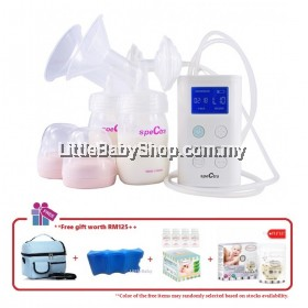 Spectra 9 Plus Double Electric Breast Pump Combo Package