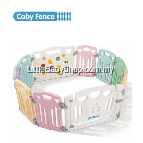 Coby Haus Parklon Fence (8+2) 8 Panel + 1 Safety Door + 1 Activity Board (Bear)