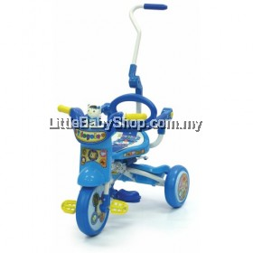 My Dear Foldable Tricycle with foldable control bar 21025