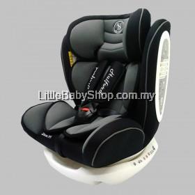 [PRE-ORDER] HALFORD Zeus XT Car Seat Grey