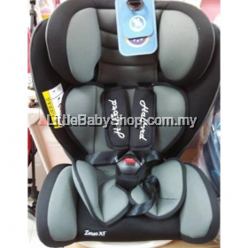 Halford Zeus XT Car Seat - (Grey)