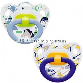 Nuk Printed Silicone Soother (6-18m)  2Pcs