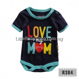 Holabebe: R384-Love My Pretty Mom Holabebe Romper