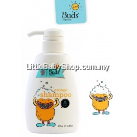 Buds For Kids Shampoo (Orange) 350ml