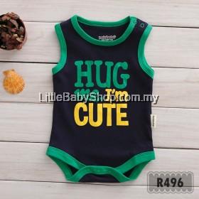 Holabebe: R496-Hug Me I'm Cute Holabebe Romper