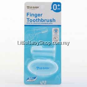 US Baby Finger Toothbrush with Hygiene Case