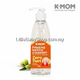 K-MOM Zero-Dust Feeding bottle Cleanser (Green Olive) 400ml