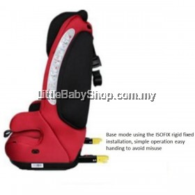 [PRE-ORDER] HALFORD Kitz Booster Seat Red)