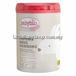 Babybio Deserve Formulated Goat's Milk for Children 1 year & Above (900g)6Tins