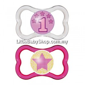 MAM Air Baby Pacifier Soother 6m+ -Twin Pack