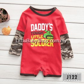 Holabebe: J122-Daddy's Tough Little Soldier Holabebe Jumper