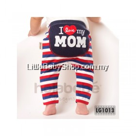 Holabebe: LG1013-I Love My Mom Holabebe Pants