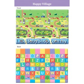 Comflor Babycare PVC Playmat Happy Villages (2100x1400x13mm) - BN14L6