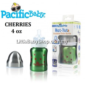 Pacific Baby Thermal Baby Bottle 120ml ( Cherries )