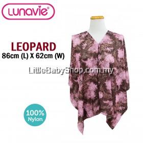 LUNAVIE Premium Nursing Cover (Leopard)