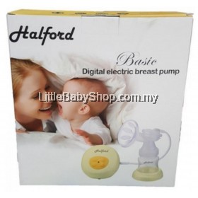 Halford Basic Digital Electric Breast Pump Single ( 2 Year Warranty )