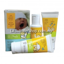 BUDS Infant Organics Starter Kit Set ( 3 in 1 )