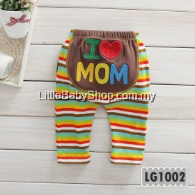 Holabebe: LG1002-I Love Mom Holabebe Pants
