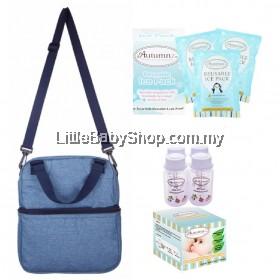 Autumnz Posh Cooler Bag Package (Oxford Blue) VALUE PACKAGE SET