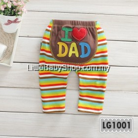 Holabebe: LG1001-I Love Dad Holabebe Pants