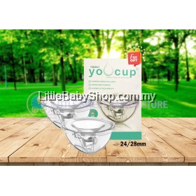 YOUHA YOUCUP Breast Milk Collection Cups System (24/28mm) with FREE GIFTS