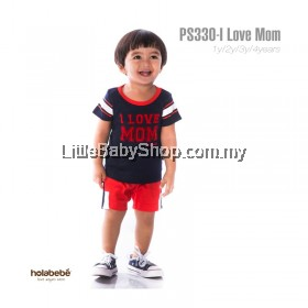Holabebe: PS330-I Love Mom Holabebe Baby Suit
