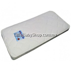 Coconut fibre baby mattress - DAMASK fabric